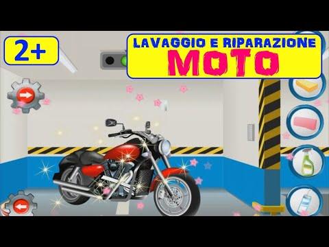 Lavaggio E RIPARAZIONE MOTO! Scegli la tua motociclo e trasformarla🏍🏍