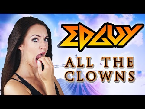 Edguy - All The Clowns 🎪  (Cover by Minniva featuring Quentin Cornet) (видео)