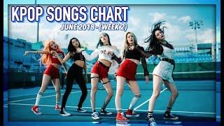 K-POP SONGS CHART | JUNE 2018 (WEEK 2)