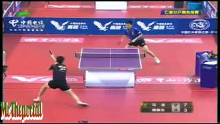 Table Tennis CHINA Warm-Up For WTTC 2013 -- Ma Long Vs Fan Zhendong -