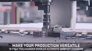 Voortman V320 Drill with 10-fold Toolchanger