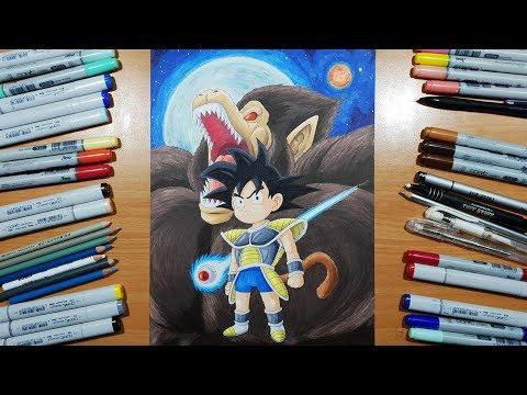 Special Drawing Kid Goku Dragon Ball Super Broly Abbey Fergusan
