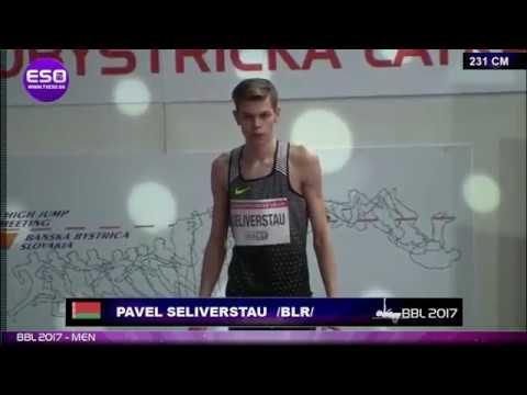 Белорусский спортсмен установил личный рекорд и занял третье место с результатом 2.31м.
