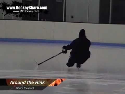 Shoot the Duck – Hockey Power Skating Drill