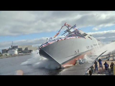 Future - All Hands Update October 21, 2014 #2 The Navy christened its newest littoral combat ship, the future USS Detroit.