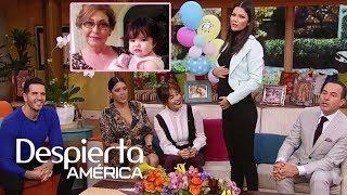 DAEnUnMinuto: Ana Patricia celebra a su mamá anunciando su embarazo