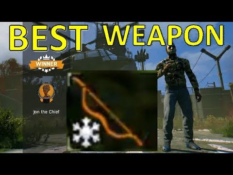 BEST WEAPON FOR EASY WINS - Dying Light Bad Blood