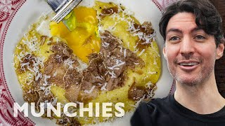 Egg Yolk Raviolo with Truffles - How To by Munchies