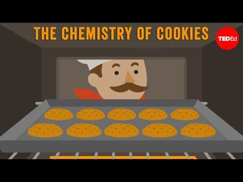 ED - View full lesson: http://ed.ted.com/lessons/the-chemistry-of-cookies-stephanie-warren You stick cookie dough into an oven, and magically, you get a plate of ...