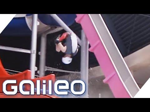 Fake-Check: Rutschen Salto   Galileo   ProSieben