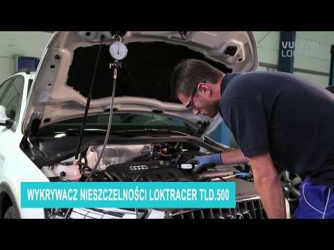 Wykrywanie nieszczelności za pomocą gazu śladowego (95/5) w klimatyzacji samochodowej
