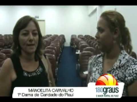Entrevista com 1ª Dama de Caridade do Piauí - Manoelita Carvalho