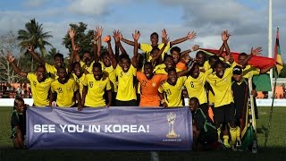 OFC TV Production - Copyright OFC TV © September 2016. Vanuatu's Frederick Massing scored deep into injury time to clinch a 2-1 win over 10-man Solomon ...