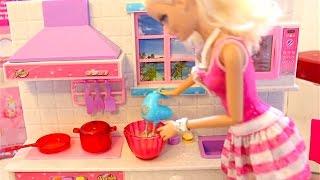 Barbie Kitchen set 芭比娃娃厨房 Cozinha Elsa Barbie cocina エルサ人形バービーキッチン Music info: