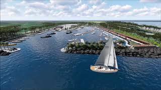 Previsione progettuale porto turistico