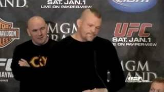 The Announcement About Chuck Liddell's retirement and being Vice President Of UFC