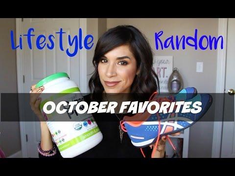 Lifestyle & Random October Favorites: Food, Yoga Pants, Bras, and kicks| Aileen.MC