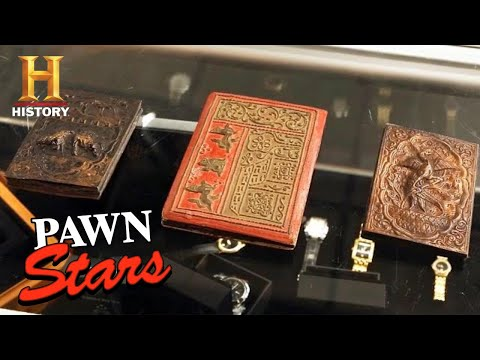 Pawn Stars: Rare Burmese Tattoo Book Gives Chum a Big Idea (Season 16) | History