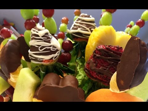 How to make an Edible Fruit Basket (видео)