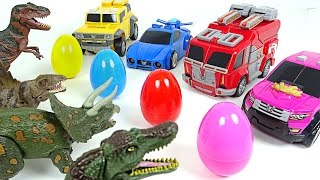 Video Miniforce vs Dinosaurs! Surprise eggs hunting wars - DuDuPopTOY MP3, 3GP, MP4, WEBM, AVI, FLV September 2018
