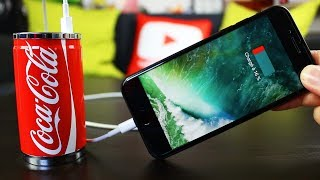 Video Charger son iPhone avec une canette de Coca-Cola ! MP3, 3GP, MP4, WEBM, AVI, FLV Agustus 2017