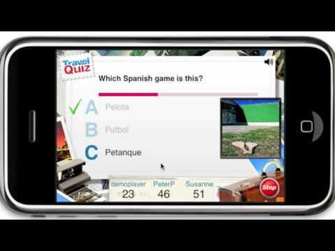 TravelQuiz - multiplayer trivia quiz on iPhone