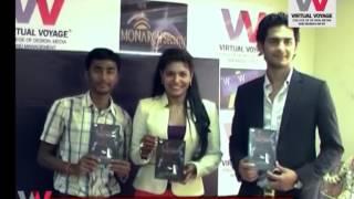 Neha kapoor album launch at virtual voyage Singer Neha Kapoor launched her latest album Sanskriti at Virtual Voyage College.
