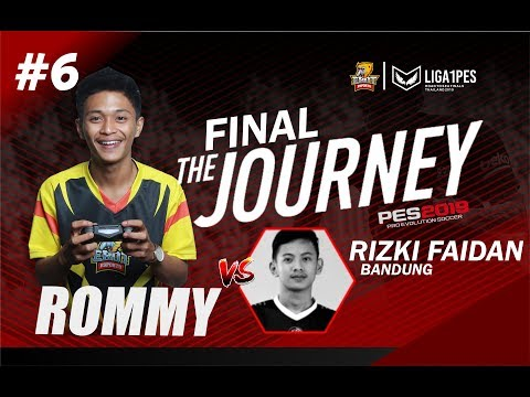 Road To Thailand Rommy Liga1PES FINAL Vs Faidan (Bandung)