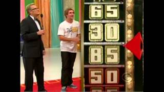 From 2010 - a contestant who happens to look like Justin Timberlake had the greatest win playing Any Number on The Price is Right, without guessing a number in any of the smaller prizes.