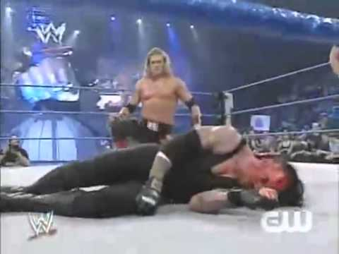 Edge wins World Heavyweight Championship from Undertaker Smackdown 05.11.07