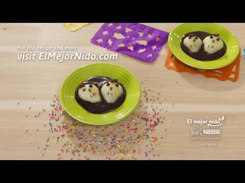 Nestlé Recipe Series: Día de los Muertos - Calaveras Pears