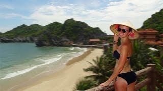 Cat Ba Island Vietnam  city pictures gallery : GREAT BEACH ON CAT BA ISLAND! Vietnam