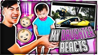 Video My Daughter REACTS to my DISS TRACKS MP3, 3GP, MP4, WEBM, AVI, FLV Agustus 2017