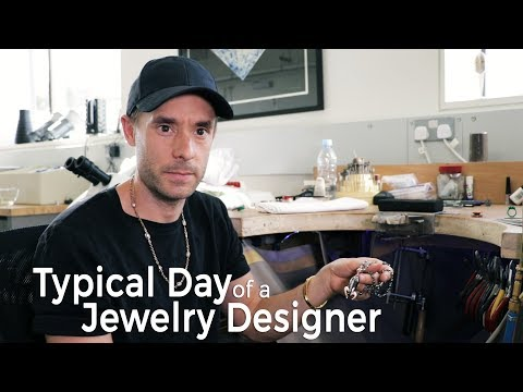 Typical Day of a Jewelry Designer. Bobby White, Behind the Scenes #4
