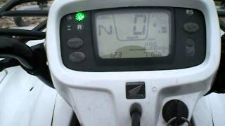 7. 2008 Honda Foreman 500 Electric Shift Power Steering