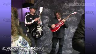 Robert Smith of The Cure Getting a new Guitar!