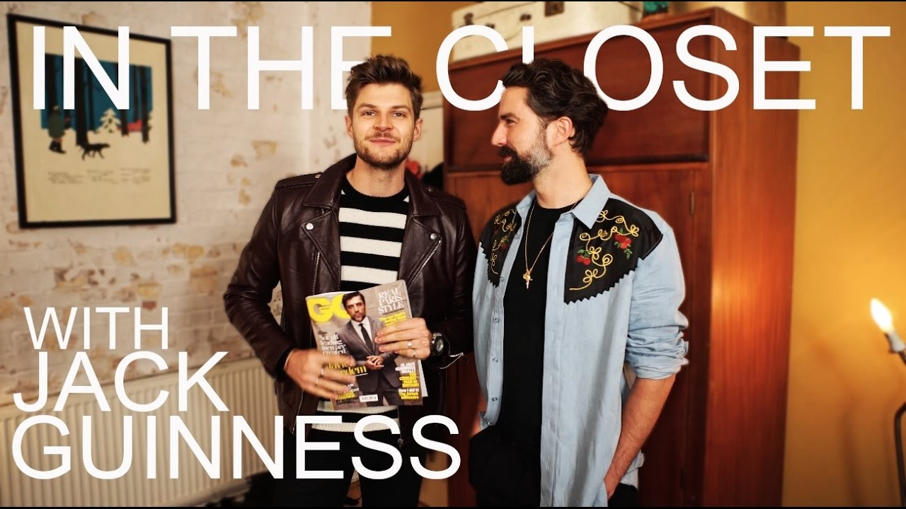 WARDROBE TOUR | #INTHECLOSET WITH JACK GUINNESS