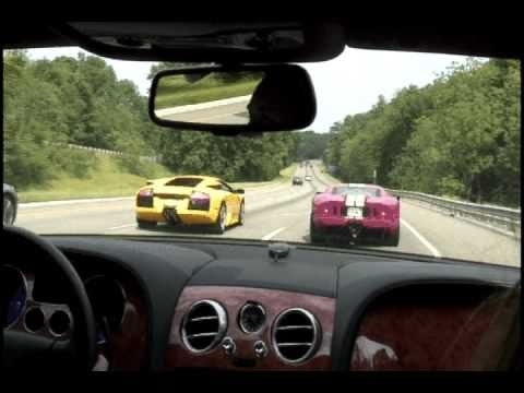 Murcielago - Ford GT with a ford racing exhaust going at it with a Lamborghini Murcielago with a tubi exhaust. Scene is from Super Speeders 3 - 