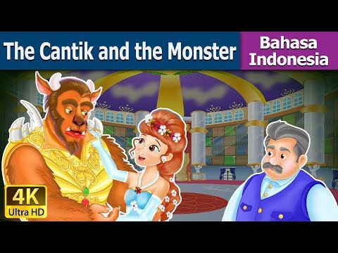 The Cantik and the Monster | Dongeng bahasa Indonesia | Dongeng anak | Indonesian Fairy Tales