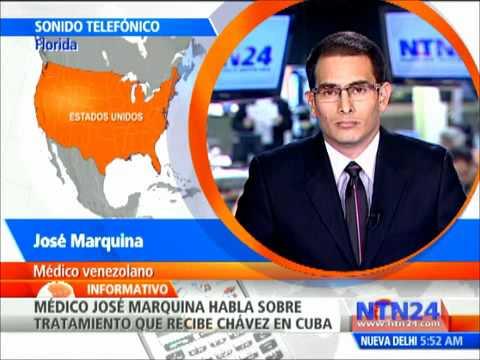 La verdad del cancer de Hugo Chavez  por el Dr. Marquina