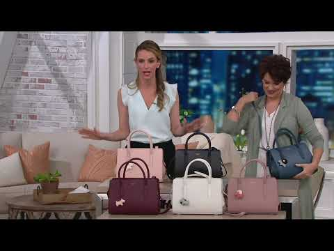 Radley London Liverpool Street Leather Medium Satchel Handbag On QVC