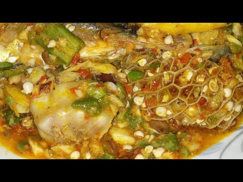 HOW TO COOK NIGERIAN OKRA SOUP /ILA ASEPO  /(UPDATED)