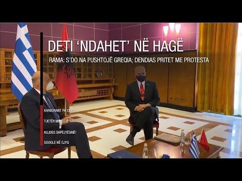 Edicioni informativ - 20 tetor 2020 - Ora 20:00 - RTV Ora
