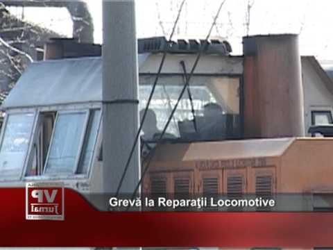 Grevă la Reparaţii Locomotive