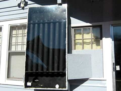 My solar powered heater – Free heat