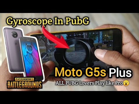 Gyroscope In Pubg ? | Moto G5s Plus | All Pubg Lovers Play Like Pro | Fully Explained😮 Hindi