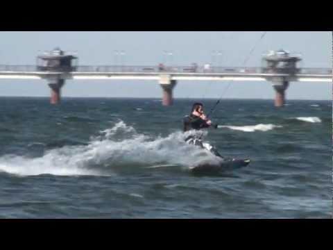 Kitesurfing Międzyzdroje – Morze Bałtyckie – 2011