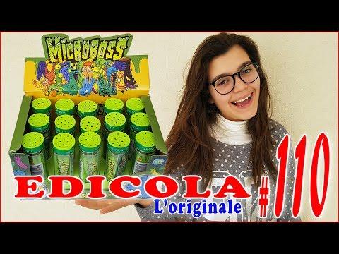 EDICOLA #110: MICROBOSS Virus, Batteri e Spore - Apriamo insieme 1 Pacco da 15 (by Giulia Guerra) (видео)