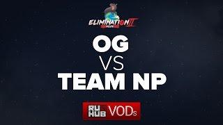 OG vs Team NP, Moonduck Elimination Mode II, game 2 [LightOfHeaveN, Lex]