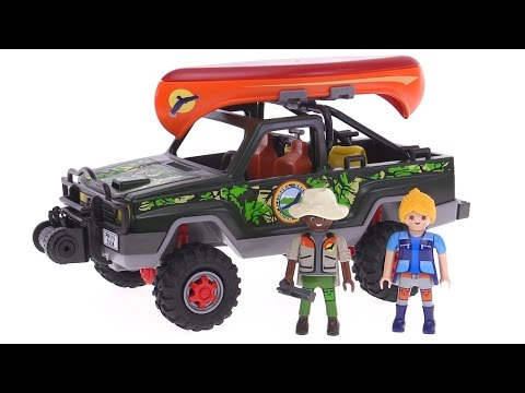 Playmobil Wild Life Adventure Pickup Truck review! 5558